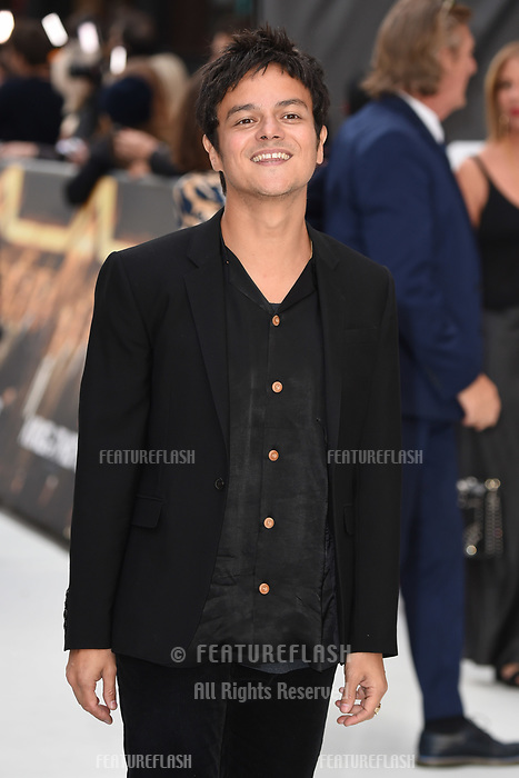 "LONDON, UK. September 12, 2018: Jamie Cullam at the World Premiere of ""King of Thieves"" at the Vue Cinema, Leicester Square, London.<br /> Picture: Steve Vas/Featureflash"