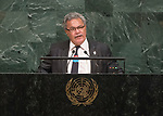 72 General Debate – 20 September <br /> <br /> by His Excellency Enele Sosene Sopoaga, Prime Minister of Tuvalu