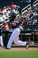Bryson Myles - Cleveland Indians 2016 spring training (Bill Mitchell)