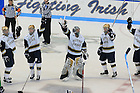 ND Hockey win over Alaska-Fairbanks in the CCHA tournament, 2007.