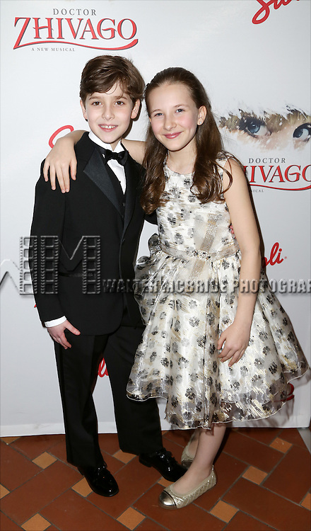 Jonah Halperin and Sophia Gennusa attends the Broadway Opening Night After Party for 'Doctor Zhivago' at Rockefeller Center on April 21, 2015 in New York City.