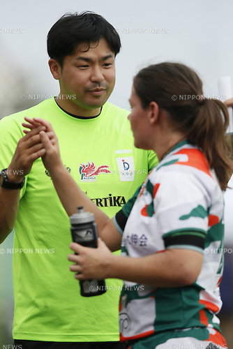 Yohei Shinomiya,<br /> JULY 20, 2014 - Rugby : <br /> Women's Sevens Series 2014 Yokohama <br /> at YCAC ground in Kanagawa, Japan. <br /> (Photo by Shingo Ito/AFLO SPORT) [1195]