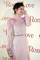 Alessandra Mastronardi.Roma 13/4/2012 Auditorium.To Rome with Love - World Premiere.Foto Insidefoto Andrea Staccioli