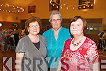 Chris Murnane, Mary Stack and Mary Godley who attended the Failte PROBUS Fashion Show with Afternoon Tea in the Ballyroe Hotel yesterday  afternoon (Wednesday)