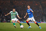 08.11.2019 League Cup Final, Rangers v Celtic: James Forrest and Borna Barisic