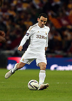 Pictured: Leon Britton. Sunday 24 February 2013<br /> Re: Capital One Cup football final, Swansea v Bradford at the Wembley Stadium in London.