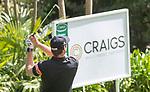 Daniel Pearce during his final round. Jennian Homes Charles Tour, Carrus Open, Tauranga Golf Club, Tauranga, New Zealand, Thursday 10 October 2019. Photo John Borren/www.bwmedia.co.nz