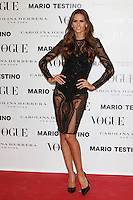 Izabel Goulart attends Vogue and Mario Testino photocall in Madrid. November 27, 2012. (ALTERPHOTOS/Caro Marin) /NortePhoto