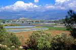 Intensive horticulture in flat valley land, near Kalkan, Turkey
