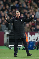 West Ham United Manager David Moyes during the Premier League match between West Ham United and Arsenal at the Olympic Park, London, England on 13 December 2017. Photo by Andy Rowland.