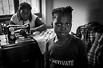 A young girl in the boarding school Mumemo III, where the girls learn different jobs so that they can be independents in the futur.