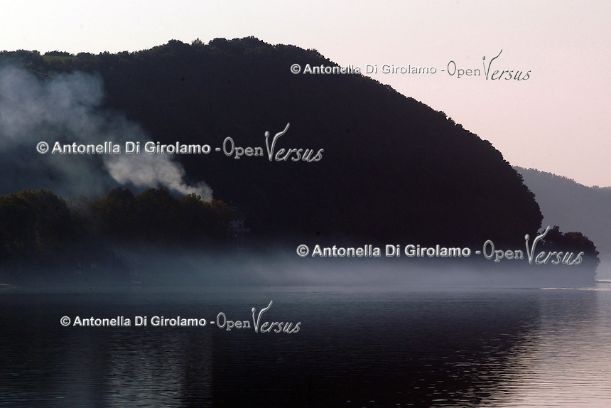 Anguillara e il lago di Bracciano....