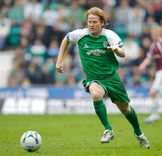 Michael Stewart, Hibs.stock season 2006-2007.pic willie vass