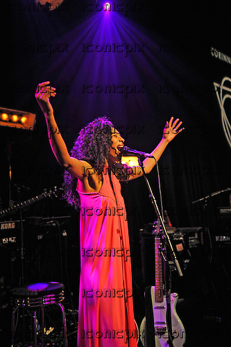 CORINNE BAILEY RAE - performing live at The Tabernacle in London UK - 07 Apr 2016.  Photo credit: Zaine Lewis/IconicPix