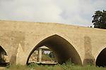 Israel, Southern Coastal Plain, Ad Halom bridge over Nahal Lachish