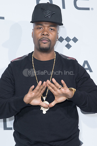 BROOKLYN, NY - OCTOBER 20: Memphis Bleek on arrivals for TIDALx1020 Concert at Barclays Center in Brooklyn, NY on October 20, 2015. Credit: Abel Fermin/MediaPunch