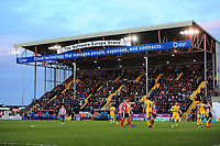 A general view of Sincil Bank, home of Lincoln City<br /> <br /> Photographer Chris Vaughan/CameraSport<br /> <br /> Vanarama National League - Lincoln City v Chester - Tuesday 11th April 2017 - Sincil Bank - Lincoln<br /> <br /> World Copyright &copy; 2017 CameraSport. All rights reserved. 43 Linden Ave. Countesthorpe. Leicester. England. LE8 5PG - Tel: +44 (0) 116 277 4147 - admin@camerasport.com - www.camerasport.com