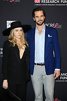 LOS ANGELES - FEB 27:  Majandra Delfino, David Walton at the An Unforgettable Evening at Beverly Wilshire Hotel on February 27, 2018 in Beverly Hills, CA