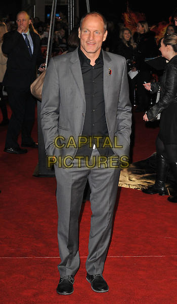 Woody Harrelson attends the , Odeon Leicester Square, Leicester Square, London, England, UK, on Thursday 05 November 2015. <br /> CAP/CAN<br /> &copy;CAN/Capital Pictures