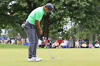 Thorbjorn Olesen (DEN) putts on the 2nd green during Sunday's Final Round of the WGC Bridgestone Invitational 2017 held at Firestone Country Club, Akron, USA. 6th August 2017.<br /> Picture: Eoin Clarke | Golffile<br /> <br /> <br /> All photos usage must carry mandatory copyright credit (&copy; Golffile | Eoin Clarke)