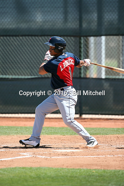 Luigi Rodriguez - Cleveland Indians 2016 extended spring training (Bill Mitchell)
