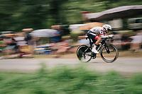 Julien Bernard (FRA/Trek-Segafredo)<br /> <br /> Stage 20 (ITT): Saint-Pée-sur-Nivelle >  Espelette (31km)<br /> <br /> 105th Tour de France 2018<br /> ©kramon