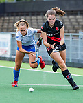 AMSTELVEEN -  Alessia Norbiato (Adam)  finale Kampong MB1-Amsterdam MB1. AMSTERDAM MB1 wint de titel Meisjes B. finales A en B jeugd  Nederlands Kampioenschap.  COPYRIGHT KOEN SUYK