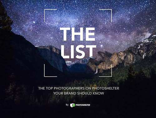 Photoshelter's The List