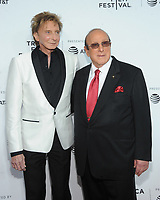 NEW YORK, NY - APRIL 19: Barry Manilow and Clive Davis attend the 'Clive Davis: The Soundtrack of Our Lives' 2017 Opening Gala of the Tribeca Film Festival at Radio City Music Hall on April 19, 2017 in New York City. <br /> CAP/MPI/JP<br /> &copy;JP/MPI/Capital Pictures