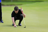 Dermot McElroy (NIR) on the 9th green during Sunday's Final Round of the Northern Ireland Open 2018 presented by Modest Golf held at Galgorm Castle Golf Club, Ballymena, Northern Ireland. 19th August 2018.<br /> Picture: Eoin Clarke | Golffile<br /> <br /> <br /> All photos usage must carry mandatory copyright credit (&copy; Golffile | Eoin Clarke)