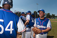 20 August 2010: Brice Lorienne of Team France is seen prior to France 6-5 win over Italy, at the 2010 European Championship, under 21, in Brno, Czech Republic.
