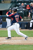June 1, 2008: Tacoma Rainiers' Tug Hulett at-bat during a Pacific Coast League game against the Salt Lake Bees at Cheney Stadium in Tacoma, Washington.