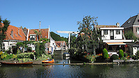 Houses at Canal in Edam,Netherlands