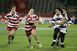 Secondary Schools Girls Competition rugby game between Counties Manukau & Auckland played at Mt Smart Stadium on 31 August 2007. Counties Manukau won 33 - 0.