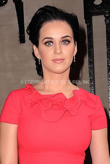 WWW.ACEPIXS.COM . . . . . .November 30, 2012...New York City....Katy Perry attends the 2012 Billboard Women In Music Luncheon at Capitale on November 30, 2012 in New York City. ....Please byline: KRISTIN CALLAHAN - WWW.ACEPIXS.COM.. . . . . . ..Ace Pictures, Inc: ..tel: (212) 243 8787 or (646) 769 0430..e-mail: info@acepixs.com..web: http://www.acepixs.com .