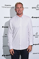 LONDON, UK. October 16, 2019: Andrew Cotton arriving for the Esquire Townhouse 2019 launch party, London.<br /> Picture: Steve Vas/Featureflash