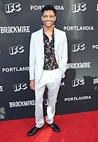 15 May 2018 - North Hollywood, California - Tyrel  Jackson Williams. IFC's &quot;Portlandia&quot; and &quot;Brockmire&quot; FYC Event held at the Saban Media Center at the Television Academy. <br /> CAP/ADM/BT<br /> &copy;BT/ADM/Capital Pictures