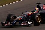 JEREZ. SPAIN. FORMULA 1<br />2013/14 en el Circuito de Jerez 28/101/2014 La imagen muestra a Jean-Eric Vergne de Toro Rosso LP / Photocall3000