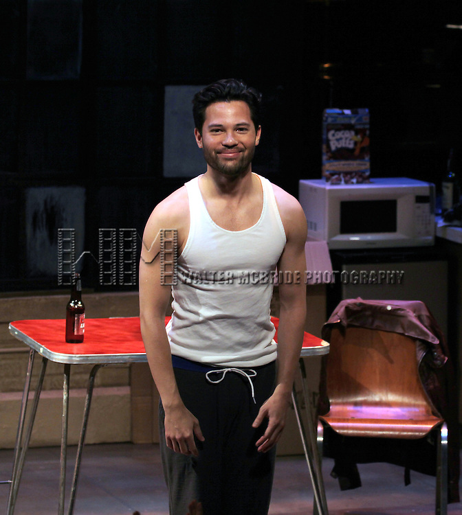 Jason Tam during the opening night performance curtain call for the Keen Company production of Marry Me A Little at the Clurman Theatre in New York City on10/2/2012.