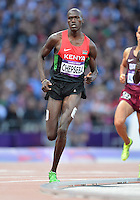 August 05, 2012..Nixon Kiplimo Chepseba competes in Men's 1500m Semifinal at the Olympic Stadium on day nine of 2012 Olympic Games in London, United Kingdom.