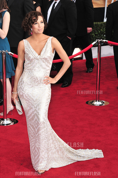 Eva Longoria at the 14th Annual Screen Actors Guild Awards at the Shrine Auditorium, Los Angeles, CA..January 27, 2008  Los Angeles, CA..Picture: Paul Smith / Featureflash