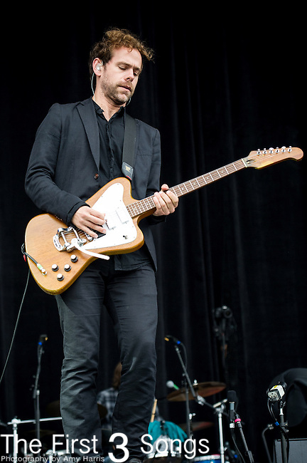 Bryce Dessner of The National performs at the Outside Lands Music & Art Festival at Golden Gate Park in San Francisco, California on August 9, 2013.
