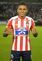 BARRANQUILLA – COLOMBIA – 17 – 01 - 2018: Jonathan Alves, durante presentación de nuevos jugadores del Atletico Junior, en la Liga Aguila I 2018, en el estadio Metropolitano Roberto Melendez, de la ciudad de Barranquilla. / Jonathan Alves, during the presentation of new players of Atletico Junior, in Liga Aguila I 2018, at the Roberto Melendez Metropolitan Stadium, in the city of Barranquilla. Photo: Alfonso Cervantes / Cont.