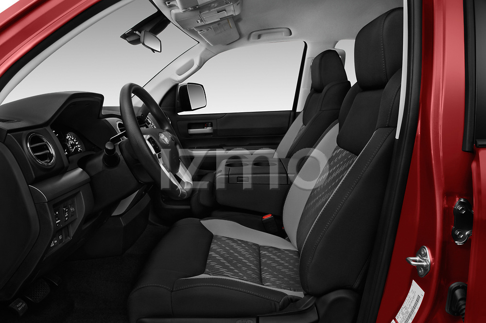 Front seat view of a 2018 Toyota Tundra SR5 5.7L Double Cab Long Bed 4 Door Pick Up front seat car photos
