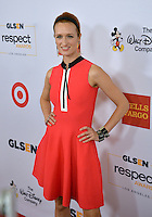 BEVERLY HILLS, CA. October 21, 2016: Actress Breeda Wool at the 2016 GLSEN Respect Awards, honoring leaders iin the fight against bullying &amp; discrimination in schools, at the Beverly Wilshire Hotel.<br /> Picture: Paul Smith/Featureflash/SilverHub 0208 004 5359/ 07711 972644 Editors@silverhubmedia.com