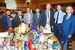 Attending the Islamic Exhibition in the Brandon Hotel on Saturday, L to r: <br /> Shahadat Hussein, Azim Amwaru, Azam Baig, Dr Rizwan Khan, Cll Jim Finucane (Mayor of Tralee), Garda Aidan O'Mahoney and Cllr Sam Locke.
