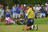 So Yeon Ryu (KOR) reacts to barely missing her birdie putt on the second playoff hole at 16 enabling Sung Hyun Park (KOR)to claim the win of the 2018 KPMG Women's PGA Championship, Kemper Lakes Golf Club, at Kildeer, Illinois, USA. 7/1/2018.<br /> Picture: Golffile | Ken Murray<br /> <br /> All photo usage must carry mandatory copyright credit (&copy; Golffile | Ken Murray)