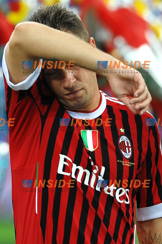 """Antonio CASSANO Milan.Milano 21/8/2011 Stadio """"Giuseppe Meazza San Siro"""".Trofeo """"Luigi Berlusconi"""".Calcio Football - Milan Vs Juventus .Foto Insidefoto Andrea Staccioli"""