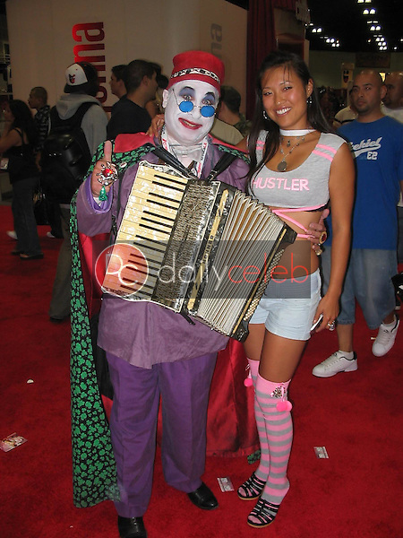 Count Smokula and model<br />