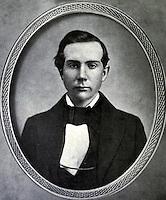 1856-57 file photo - John D. Rockefeller aged 18